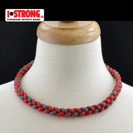 iStrong Necklace Scarlet/Gray picture