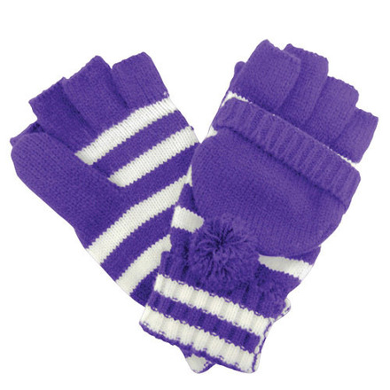 Glove Fanwear Purple/White picture