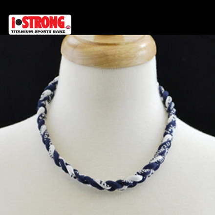 iStrong Necklace Navy/White picture