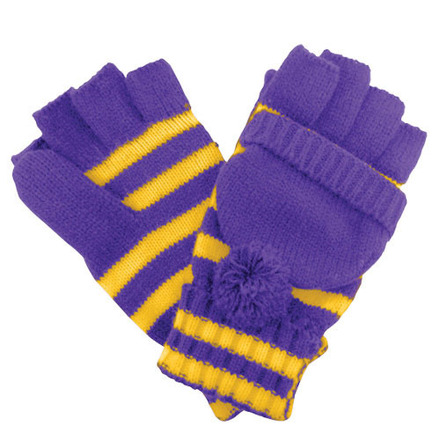 Glove Fanwear Purple/Gold picture