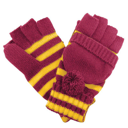 Glove Fanwear Maroon/Gold picture