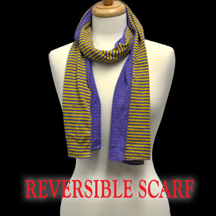 Scarf Fanwear Purple/Gold picture