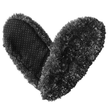 Fuzzy Footies Black picture