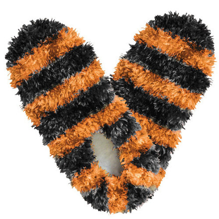 Fuzzy Footies Fanwear Black/Orange picture