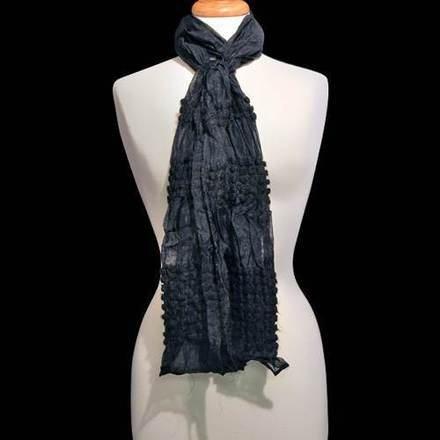 Scarf Puckered Black picture