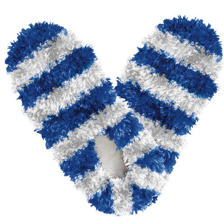 Fuzzy Footies Kids Fanwear Blue/White picture