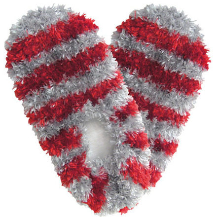 Fuzzy Footies Fanwear Scarlet/Gray picture