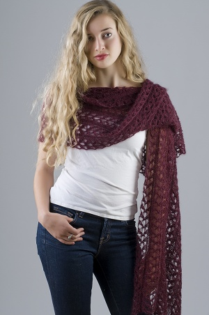 Lace Starlight Stole Pattern picture