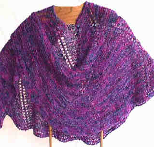 Spiral Nebula Shawl Pattern picture