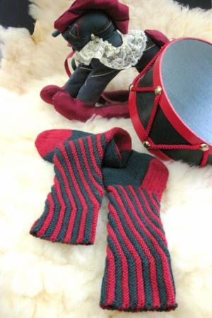 Peppermint Sticks 2 Socks e-Pattern picture