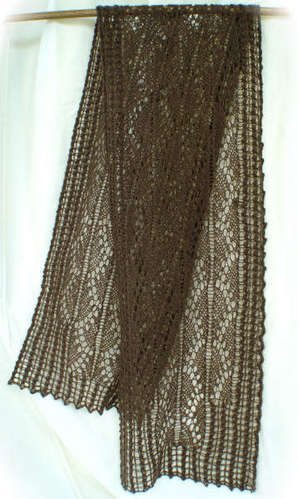 Pillared Archways Scarf Pattern picture