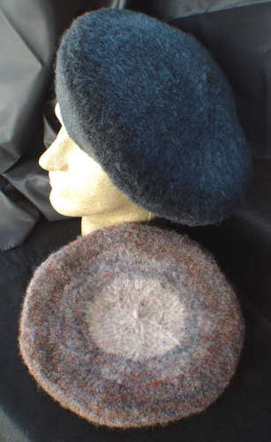 Felted Beret e-Pattern picture