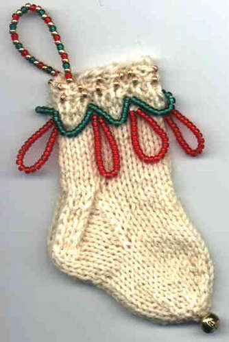 Bells On My Toes Mini Ornament Sock Pattern picture