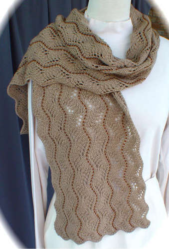Beaded Lace Scarf II Pattern picture