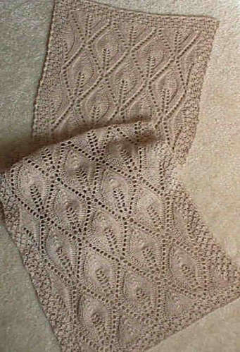 Light Up My Life Lace Scarf e-Pattern picture