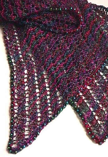 Free Knitting Patterns For Scarves With Beads : BEAD SCARF PATTERN - Free Patterns