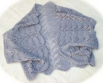 Hug-Me-Tight Fan Lace Jacket Wrap e-Pattern picture