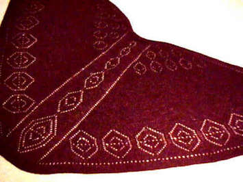 Pendants Faroese Shawl Pattern picture
