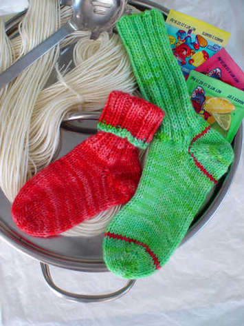 Kool-Aid Kidz Socks e-pattern picture