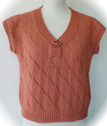 Twist and Slant Sweater Pattern picture