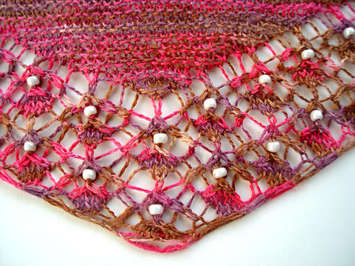 Shallow Tri Shawl Pattern picture