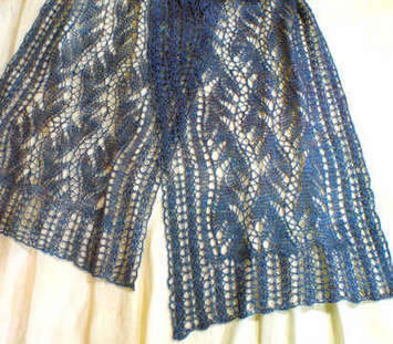 Lead or Follow Lace Scarf e-Pattern picture
