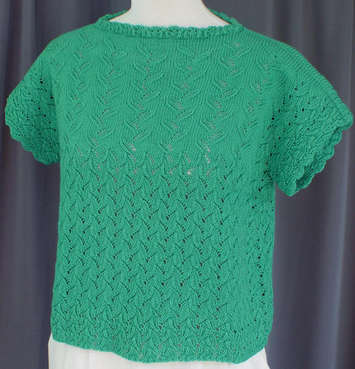Beanstalk Lace Top e-Pattern picture