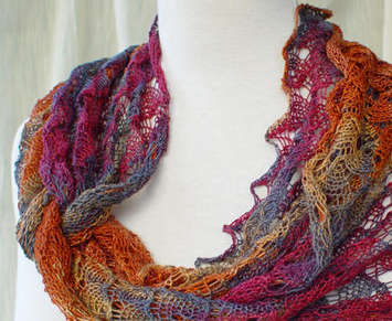 Ring of Lace Wrap Pattern picture