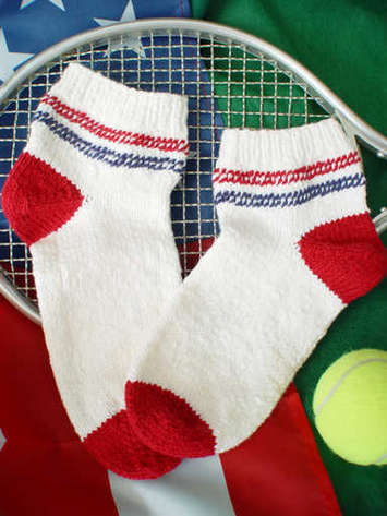 Yankee Doodle Sport Socks e-Pattern picture
