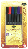 Pigma Calligrapher 20, 6 color set in 2mm nib picture