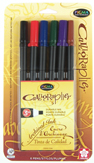 Pigma Calligrapher 30, 6 color set in 3mm nib picture