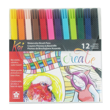 Koi Coloring Brush - 12 piece Starter Set picture