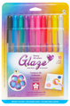 GLAZE, 3-D ink, 10 color set - BRIGHTS ASSORTMENT