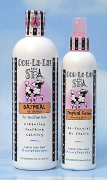 Viva La Dog Spa! Oatmeal Shampoo & Tropical Fusion Grooming Spritz picture