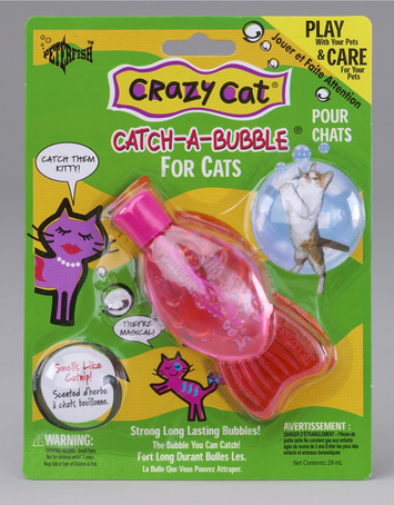 Crazy Cat Catch-A-Bubble-Was $5.00 picture