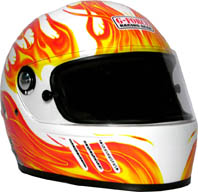 GF Eliminator X Helmet Full Face-White picture