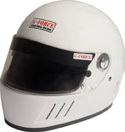 GF Pro Eliminator Helmet Full Face-White picture