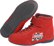 GF235 Midtop Boot-Red picture