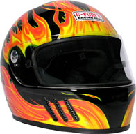 GF Eliminator X Helmet Full Face-Black picture