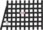 Angle Ribbon Window Net-Black