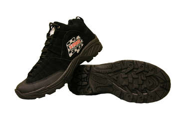 GF Pro Crew Shoes SFI Approved -Black picture