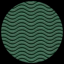 """Corrugated Illusion Forest Green 26"""" x 40"""" picture"""