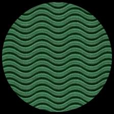 "Corrugated Illusion Wave Flute - Green, 20"" x 29.5"" picture"