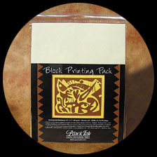Block Printing Paper Pack - Unbleached picture