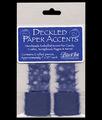 Royal Blue Deckled Lace Trim