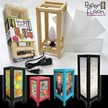 "5"" x 11"" Paper Fusion Lamp Kit - Natural additional picture 1"
