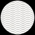 """Corrugated Illusion-Eggshell White 29"""" x 20"""""""