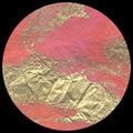 "Thai Marbled Momi-Pink/Peach/Gold ""Sherbert"" 24"" x 36"""