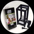 """5"""" x 11"""" Paper Fusion Lamp Kit - Black"""