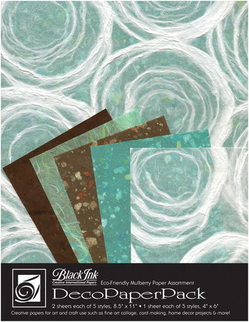 """Deco Paper Pack Large-8.5"""" x 11"""" Whimzy picture"""